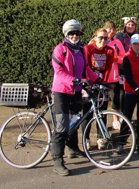 """January bike attire in Oregon for the """"Non-cyclist"""""""