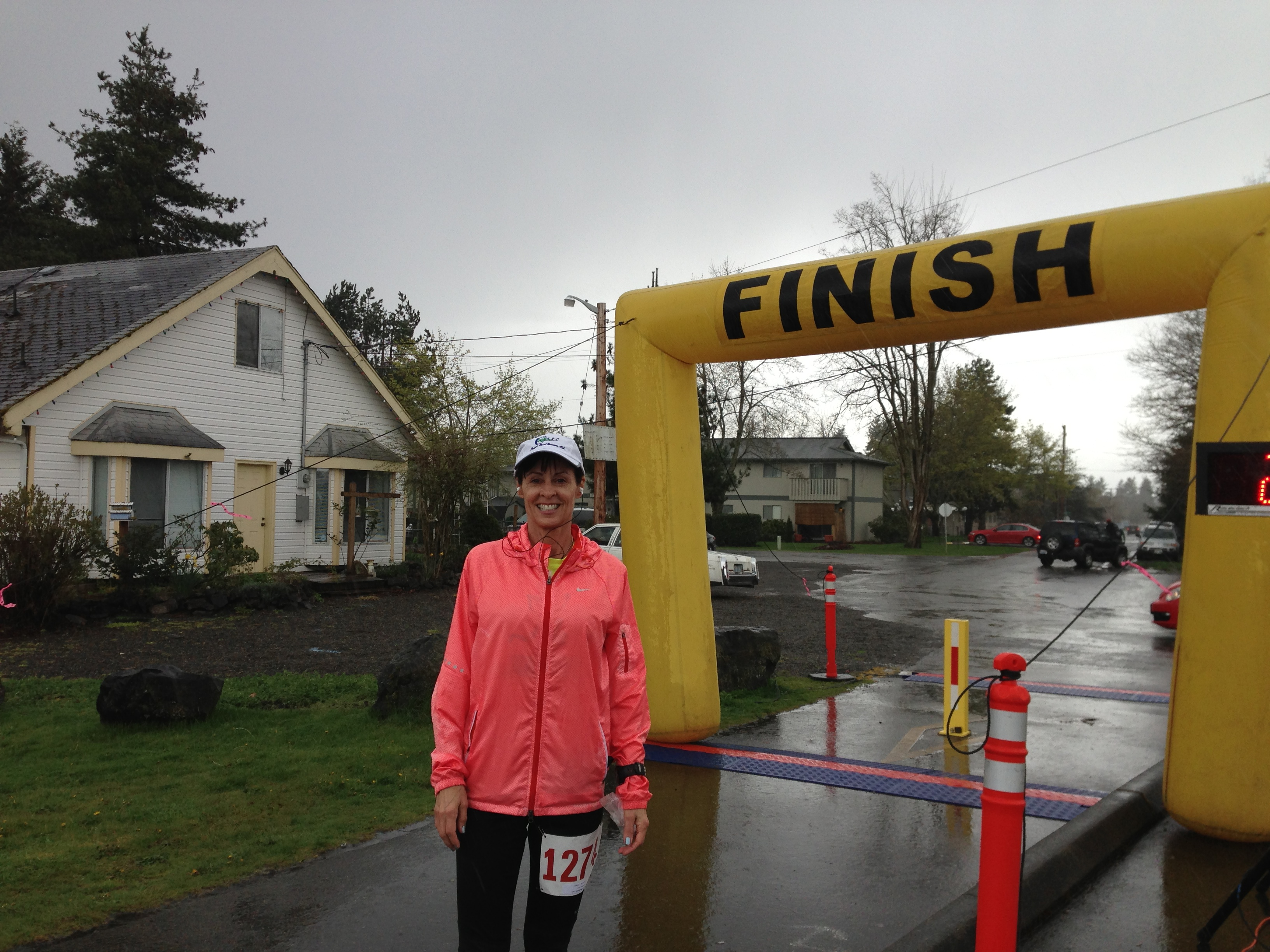 A soggy and cold finish