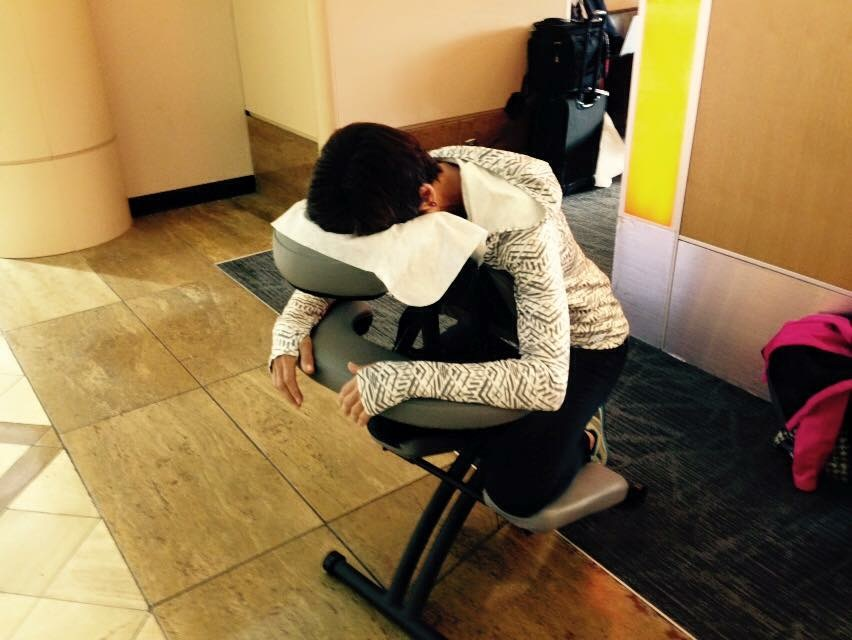 Airport massage